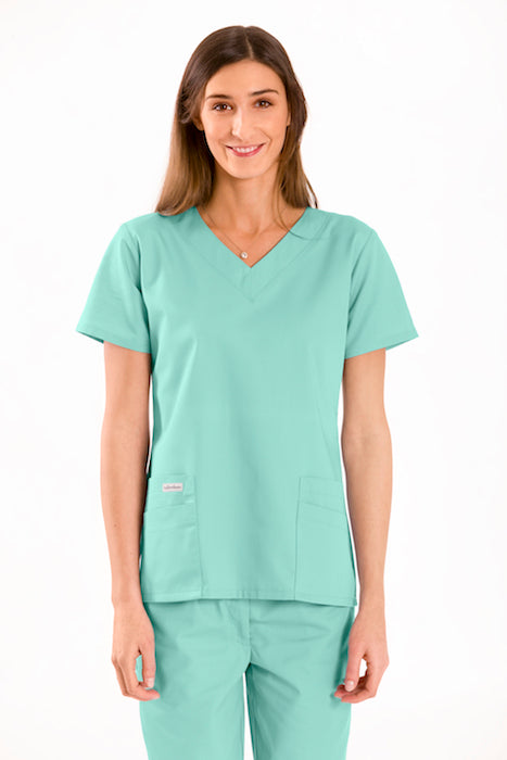 V neck scrub medical top
