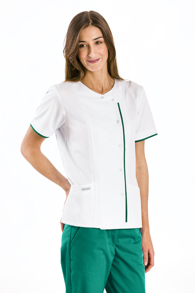 Women's medical lab coat