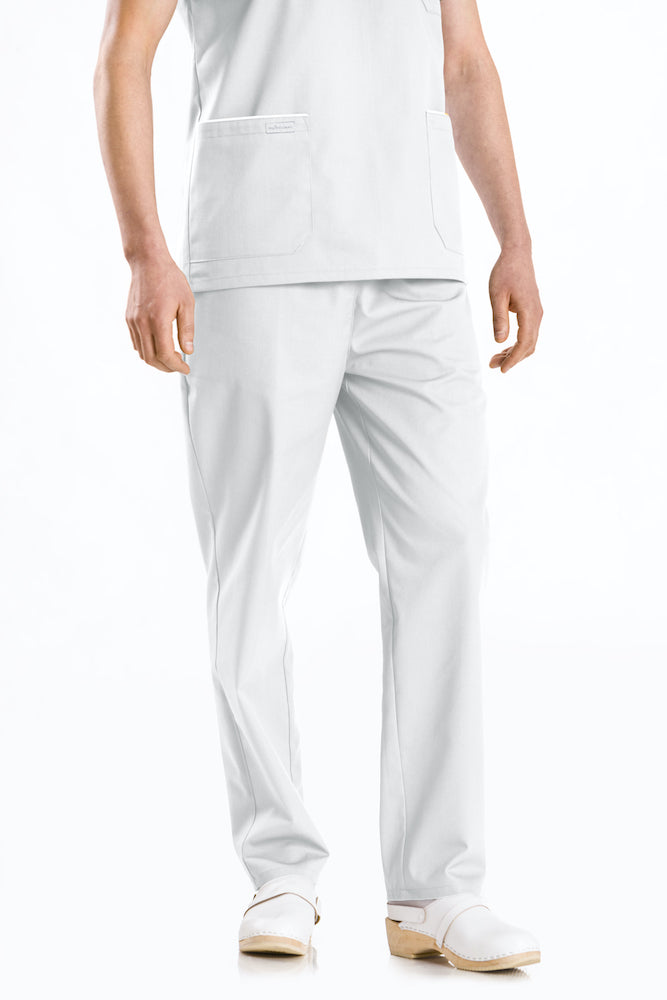 Men's trousers with zipper and pockets