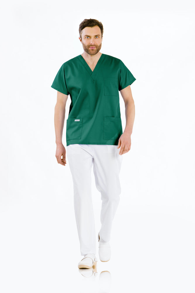 V-neck medical wear – unisex
