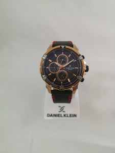 Daniel Klein Men's Black Watch