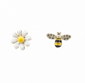 Bee and Daisy Mismatched Studs