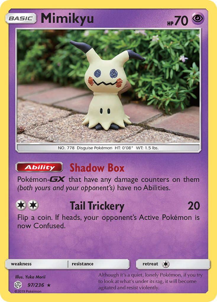 Mimikyu (97/236) [SM - Cosmic Eclipse] | Card Cavern Trading Cards