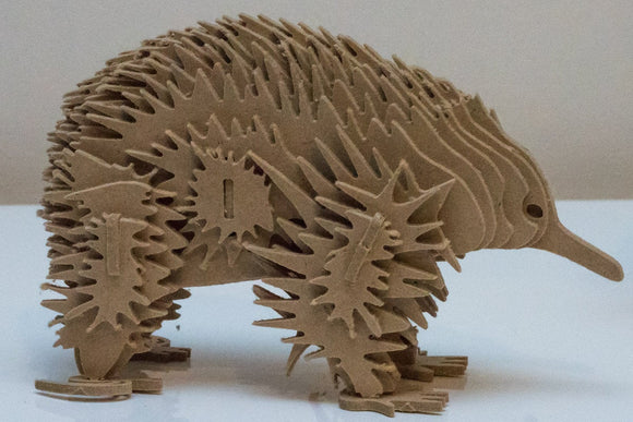 Echidna Australian Animal Series 3D Wooden Toy Puzzle
