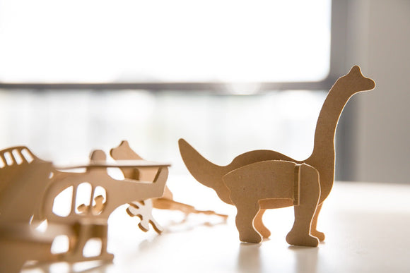 Junior Dinosaur, Junior 3D Models Wooden Toy Puzzle