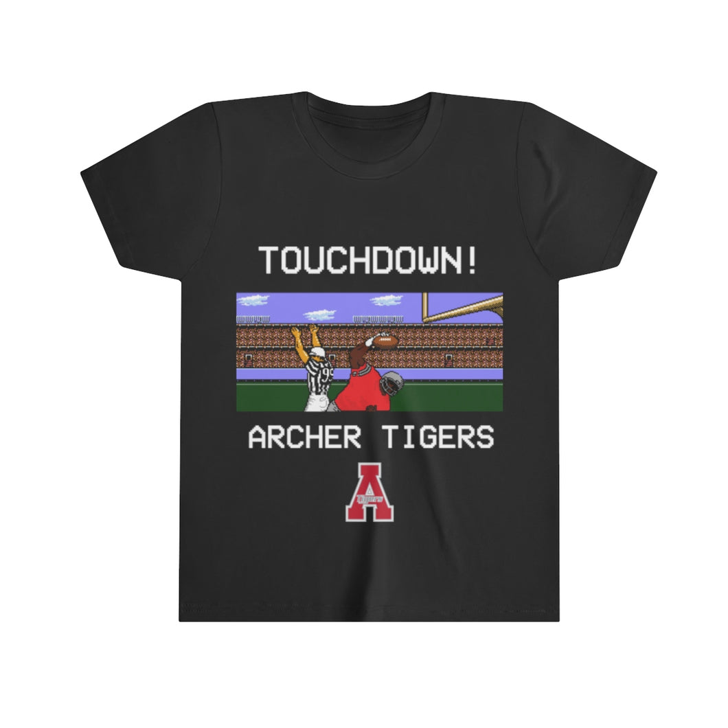 Youth Touchdown Archer Tigers - 8bit Tiger Cubs