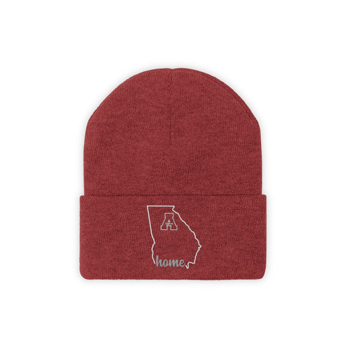 Georgia Home Red Beanie