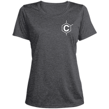 Load image into Gallery viewer, C2 Ladies' Heather Dri-Fit Moisture-Wicking T-Shirt
