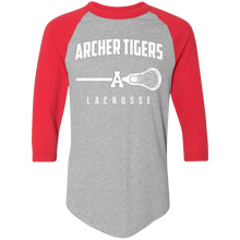 Load image into Gallery viewer, Archer LaCrosse Logo Colorblock Raglan Jersey