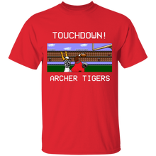 Load image into Gallery viewer, Archer Football 8 Bit Special Youth 5.3 oz 100% Cotton T-Shirt