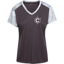Load image into Gallery viewer, C2 Ladies' CamoHex Colorblock T-Shirt