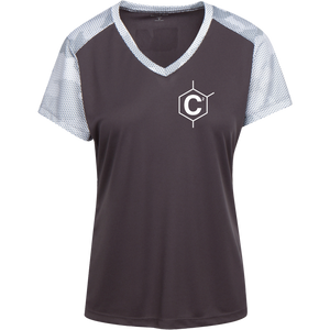 C2 Ladies' CamoHex Colorblock T-Shirt