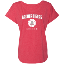 Load image into Gallery viewer, Archer Soccer Ball  Ladies' Triblend Dolman Sleeve
