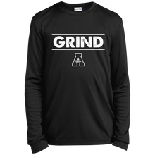 Load image into Gallery viewer, Grind Youth Longsleeve Moisture-Wicking T-Shirt