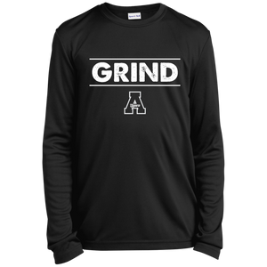 Grind Youth Longsleeve Moisture-Wicking T-Shirt