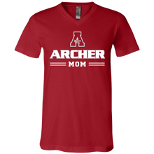 Load image into Gallery viewer, Archer Mom Jersey SS V-Neck T-Shirt