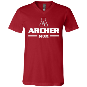 Archer Mom Jersey SS V-Neck T-Shirt