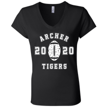 Load image into Gallery viewer, Archer Tigers Football 2020 Ladies' Jersey V-Neck T-Shirt