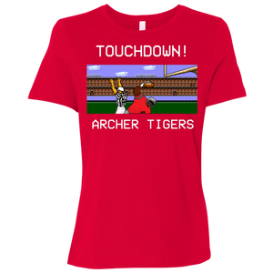 Archer Football 8 Bit Ladies' Relaxed Jersey Short-Sleeve T-Shirt