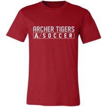Load image into Gallery viewer, Archer Soccer Bar Logo Unisex Jersey Short-Sleeve T-Shirt