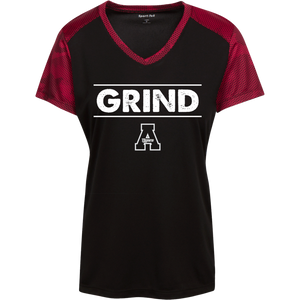 Grind Ladies' CamoHex Colorblock T-Shirt