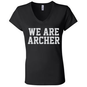 We Are Archer Ladies' Jersey V-Neck T-Shirt