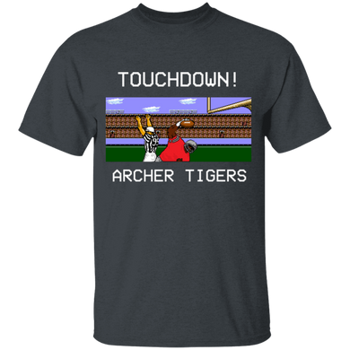 Archer Football 8 Bit Special Youth 5.3 oz 100% Cotton T-Shirt
