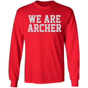 We Are Archer Special  LS Ultra Cotton T-Shirt