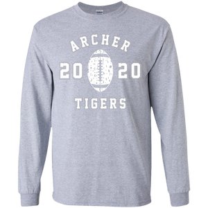 Archer Tiger Football Youth LS Tee