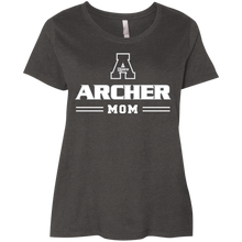 Load image into Gallery viewer, Archer Mom Ladies' Curvy T-Shirt
