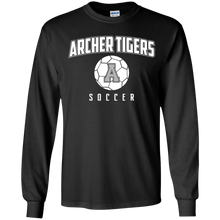 Load image into Gallery viewer, Archer Soccer Ball  Youth LS T-Shirt