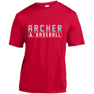 Archer Baseball Bar Logo Youth Dri-Fit Tee