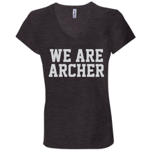 Load image into Gallery viewer, We Are Archer Ladies' Jersey V-Neck T-Shirt