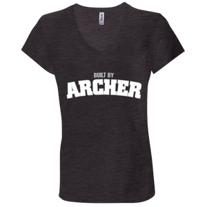 Built by Archer Ladies' Jersey V-Neck T-Shirt