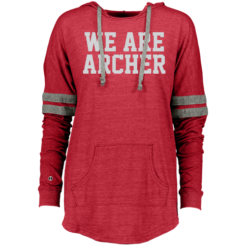 We Are Archer Ladies Hooded Low Key Pullover