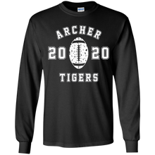 Load image into Gallery viewer, Archer Tiger Football Youth LS Tee