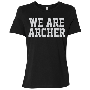 We Are Archer Ladies' Relaxed Jersey Short-Sleeve T-Shirt