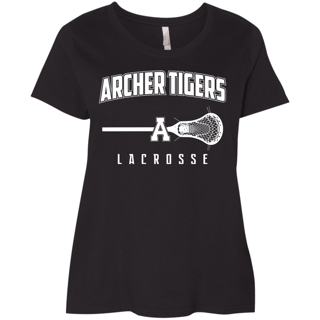 Archer LaCross Logo Ladies' Curvy T-Shirt