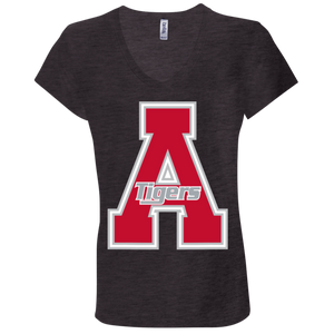 Classic A Logo Ladies' Jersey V-Neck T-Shirt