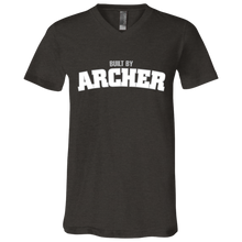 Load image into Gallery viewer, Built by Archer  Jersey SS V-Neck T-Shirt