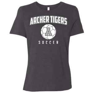 Archer Soccer Ball  Ladies' Relaxed Jersey Short-Sleeve T-Shirt