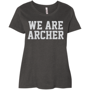 We Are Archer Ladies' Curvy T-Shirt