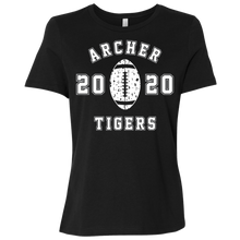 Load image into Gallery viewer, Archer Tigers Football 2020 Ladies' Relaxed Jersey Short-Sleeve T-Shirt
