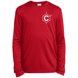 C2 Youth LS Moisture-Wicking T-Shirt
