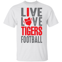 Load image into Gallery viewer, Live Love Tigers Football Special Tee