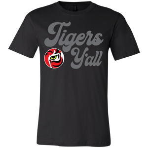 Tigers Yall Youth Jersey Short Sleeve T-Shirt