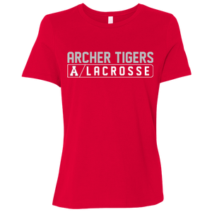 Archer LaCrosse Bar Logo Ladies' Relaxed Jersey Short-Sleeve T-Shirt