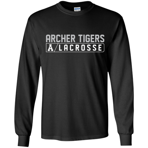Archer LaCrosse Bar Logo  Youth LS T-Shirt
