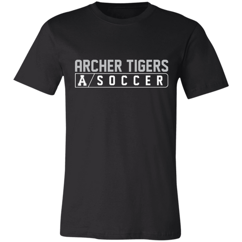 Archer Soccer Bar Logo Unisex Jersey Short-Sleeve T-Shirt