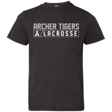 Load image into Gallery viewer, Archer LaCrosse Bar Logo Youth Jersey T-Shirt